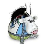 Toms Drag Kleine Kuh Walter mit Hörnern