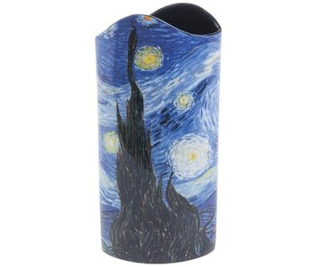 Silhouette d'Art - John Beswick Vase The Starry Night (1889)