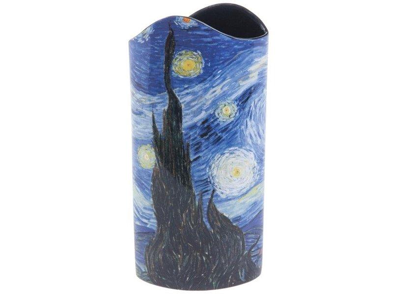 Silhouette d'Art - John Beswick The Starry Night (1889) Art vase , museum vase,  artistic flower vase,  Silhouette d'Art