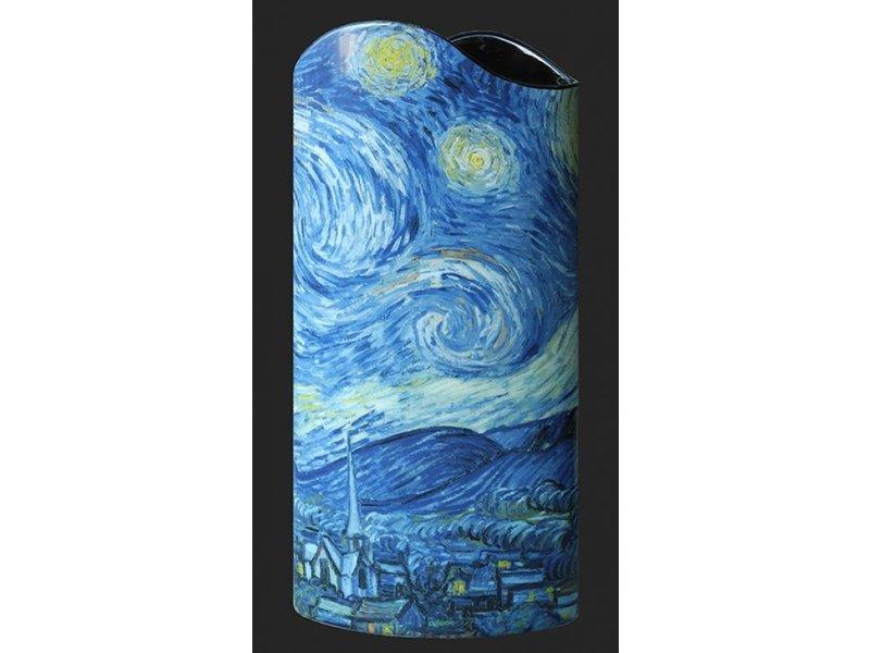 Silhouette d'Art - John Beswick Jarrón La noche estrellada (1889)