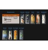 Silhouette d'Art - John Beswick Mackintosh - Rose, El florero artístico,  florero de colección de arte, jarrón de arte artístico,  florero de museo
