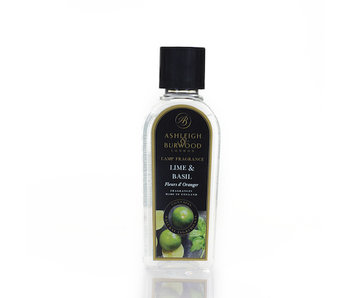 Ashleigh & Burwood Geurlamp olie Lime & Basil  500 ml