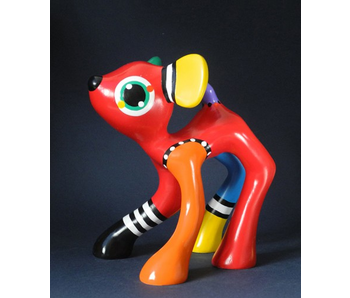 Jacky Art Kunstobjekt Hirsch Jules - L