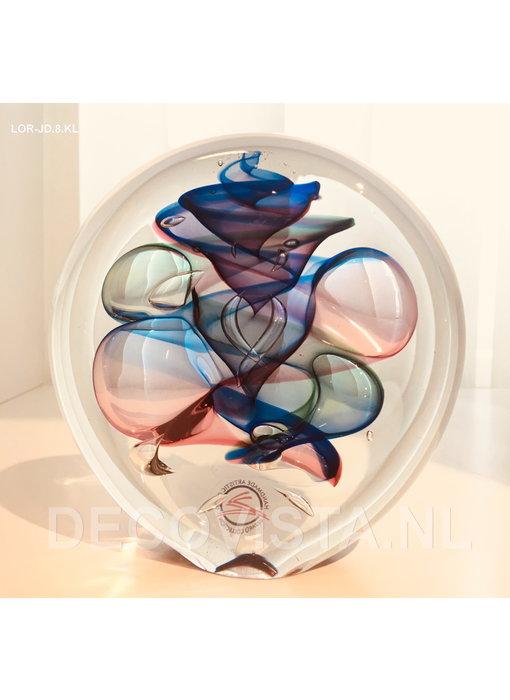 Ozzaro  Paperweight  three-colour Disc  - M