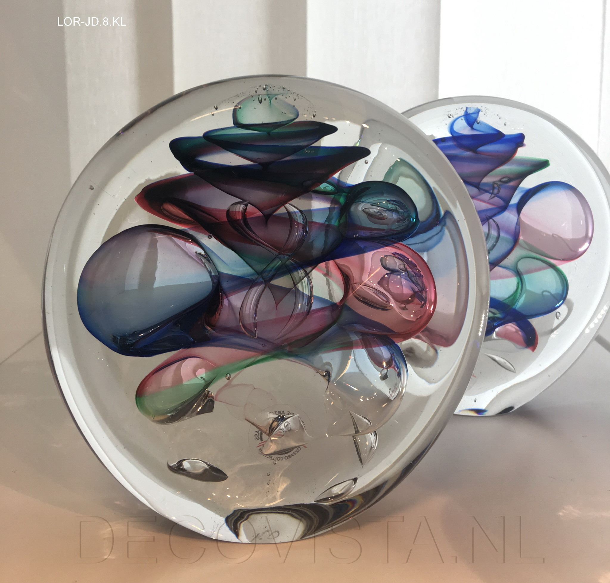 glass art object \