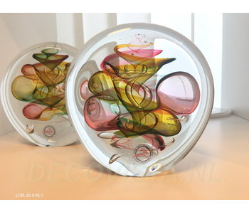 Ozzaro  Paperweight  three-colour Disc  - M