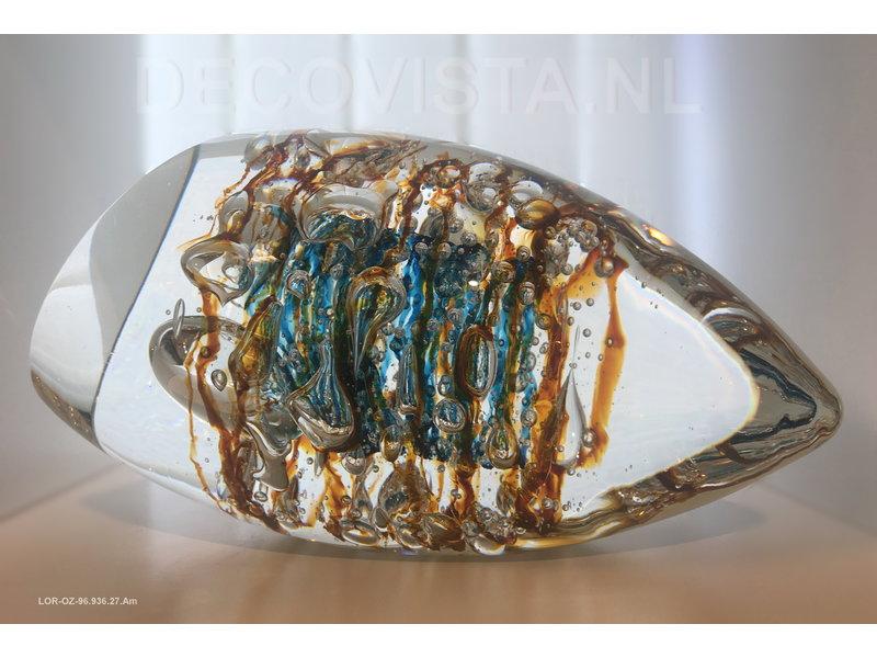 Ozzaro  Escultura de cristal  Color Lines