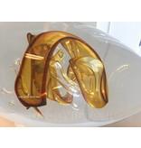 Ozzaro  Escultura de cristal Knot, oro