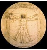 Mouseion Da Vinci Presse-papier De Man van Vitruvius