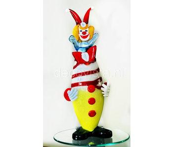 Vetri di Murano Clown aus Murano-Glas 32 cm