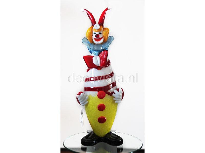 Vetri di Murano Murano Clown aus  Glas 32 cm