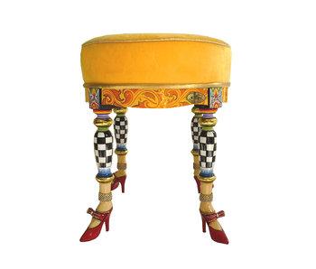 Toms Drag Hocker - Sitz Versailles Collection
