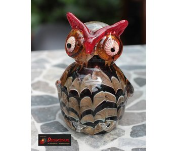 Casablanca Glass sculpture Owl