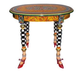 Toms Drag Oval side table Versailles