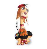 Toms Drag Estatuilla de perro  Juliette  - L