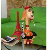 Toms Drag Hund  Figur  Juliette  - L