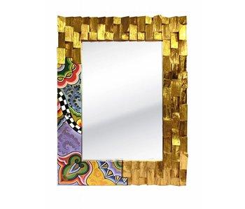 Toms Drag Espejo de Oro Madera - M