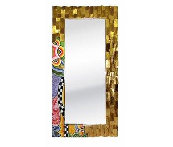 Toms Drag Espejo de Oro Madera - L