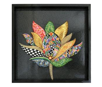 Toms Drag Lotus Wanddekoration