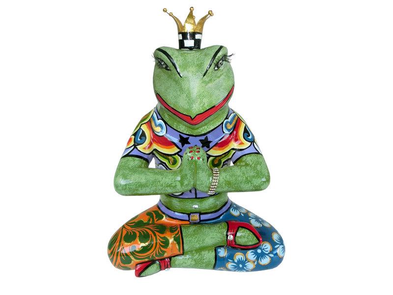 Toms Drag Yoga kikker beeldje Baba, kikkerkoning