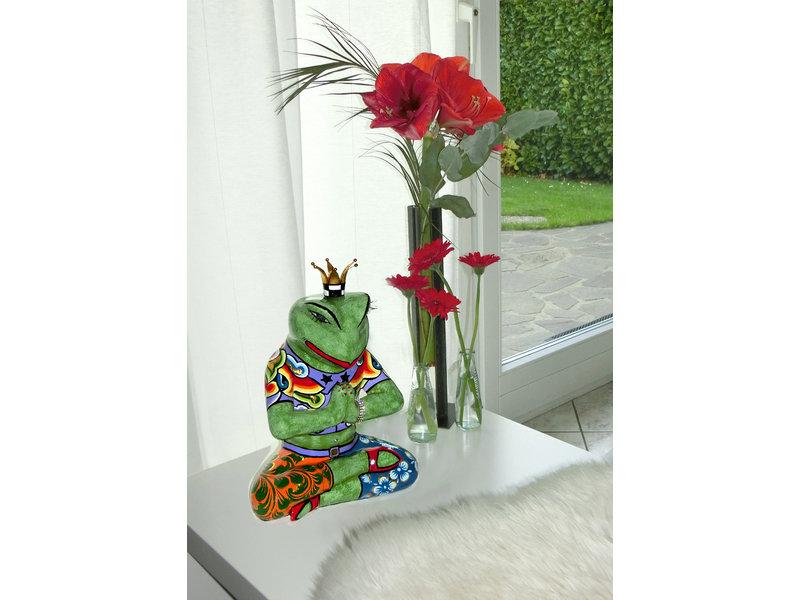 Toms Drag Yoga Frosch Figur Baba, Froschkönig