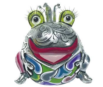 Toms Drag Froschkönig Marvin, siber