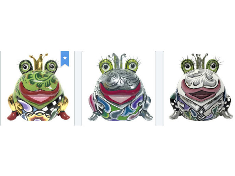 Toms Drag Froschkönig Marvin, silber