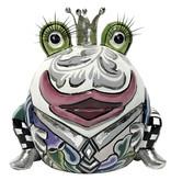 Toms Drag Froschkönig Marvin, weiss