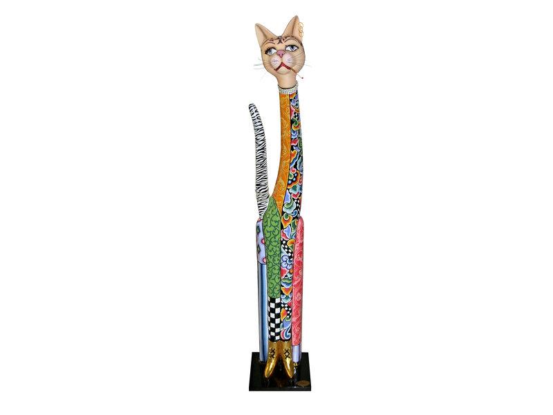 Toms Drag 145 cm hoog katten standbeeld