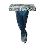 Toms Drag Tisch, Konsolentisch Mens´s Legs - Silver Line