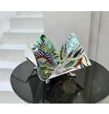 Toms Drag Schale Foglio auf Schuhe, Silver Line