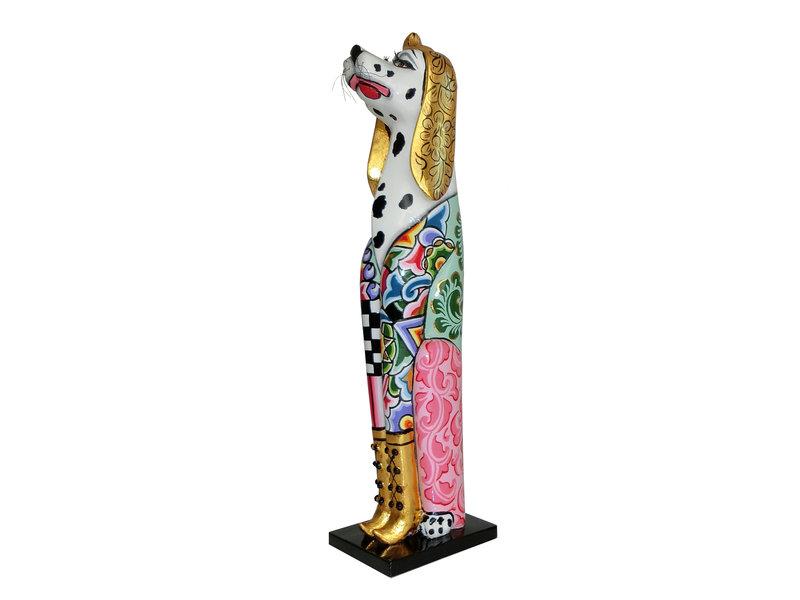Toms Drag Hond Dalmatiër Dusty  - L