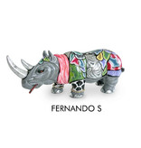Toms Drag Rhinoceros Statue Fernando  - S