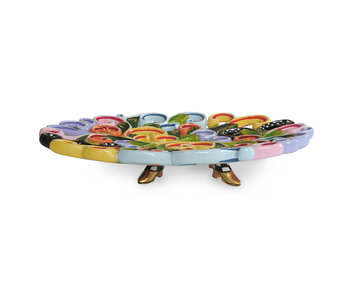 Toms Drag Bowl in baroque style, oval