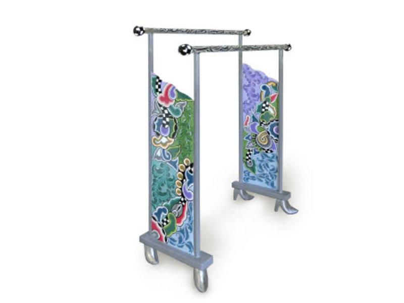 Toms Drag Bathroom rack for towels - Silver Line