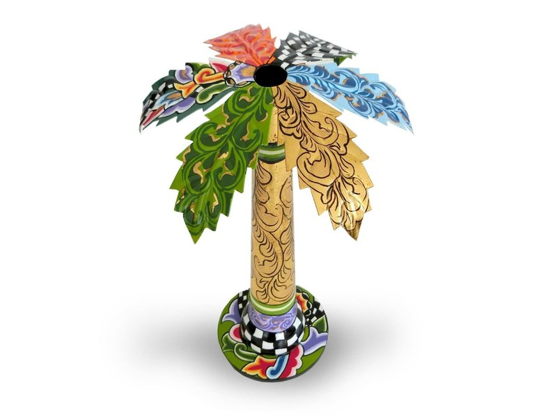 Toms Drag Candlestick Palm tree