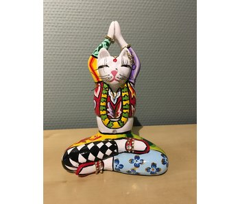 Toms Drag Yoga cat figurine Swami  - S