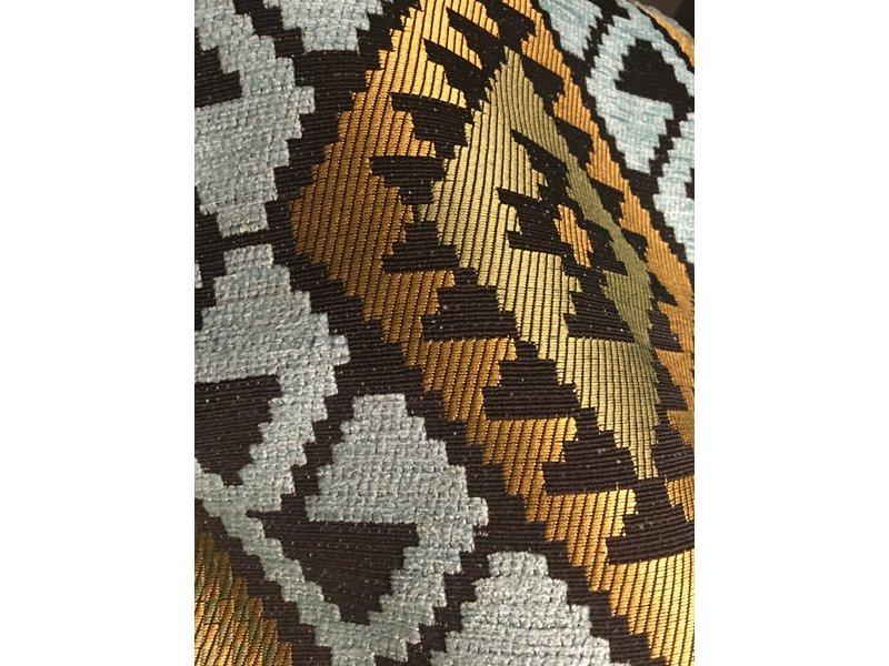 BoHo Decorative cushion of furniture fabric 45 x 45 cm