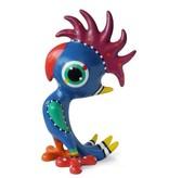 Jacky Art Vrolijk gekleurde papagaai, kunstbeeld van Jacky Zeegers