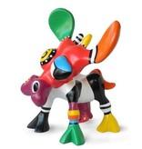 Jacky Art Koe Bea, kleurig ontwerp van Jacky Zeegers