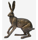 Frith Hare sculpture of a startled hare