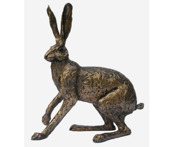 Frith Startled hare sculpture - L