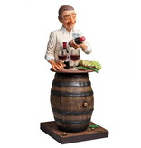 Forchino Comical character image of a wine lover