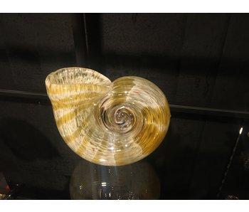 Gilde GlasArt Glasvase Schneckenmuschel