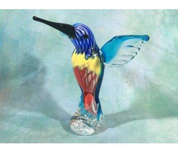 Kolibrie vogel van glas