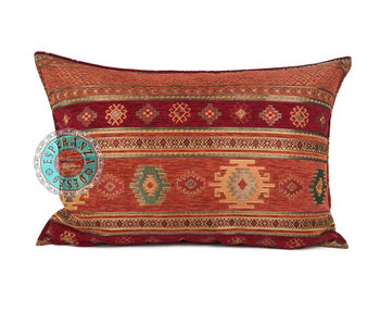 BoHo Bohemian cushion Aztec brick - 50 x 70
