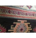 BoHo Sierkussen van meubelstof  Aztec Oker en Bruin - 50 x 70 cm
