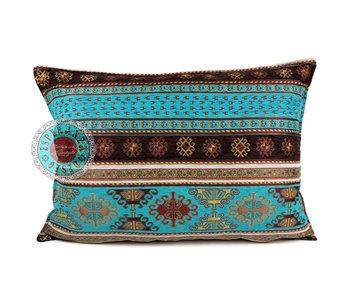 BoHo Bohemian cushion cover Peru Turqoise - 50 x 70 cm