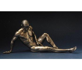BodyTalk Bodybuilder, leaning back