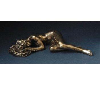 BodyTalk Reclining female, nude statue